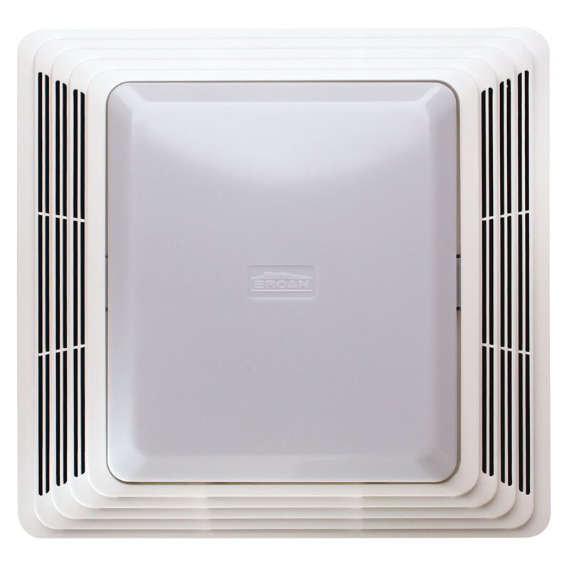 Broan 70 Cfm Bathroom Exhaust Fan With Light Reviews Wayfair