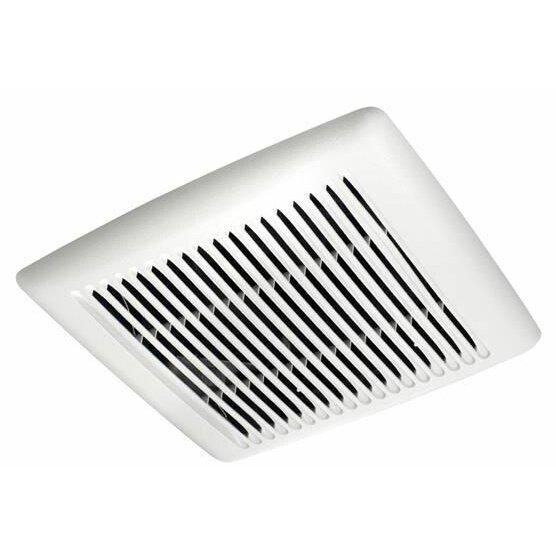 Shop Broan 0 3 Sone 110 Cfm White Bathroom Fan Energy Star: Broan InVent Single-Speed 110 CFM Energy Star Bathroom Fan