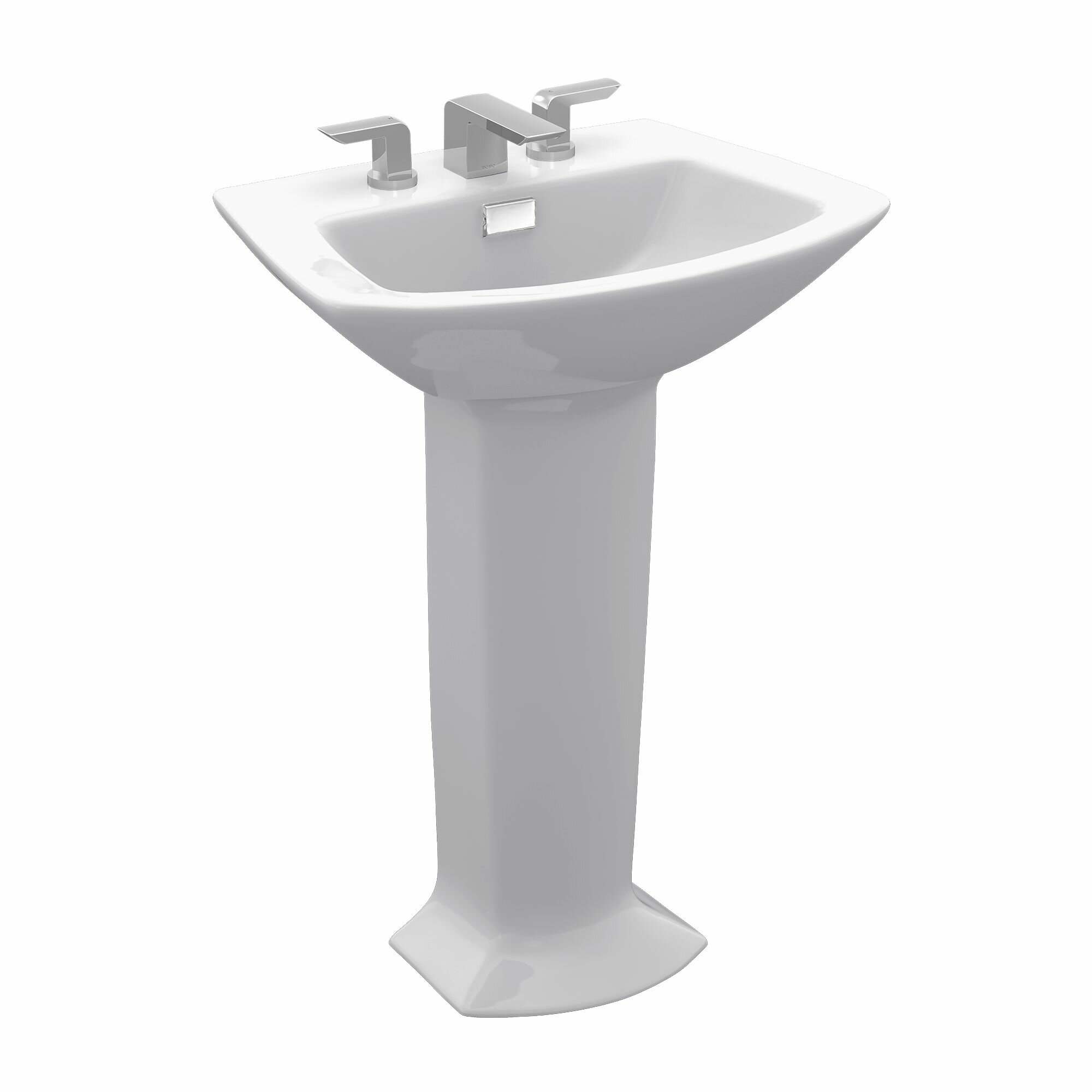 Toto Soiree Pedestal Bathroom Sink Set Wayfair
