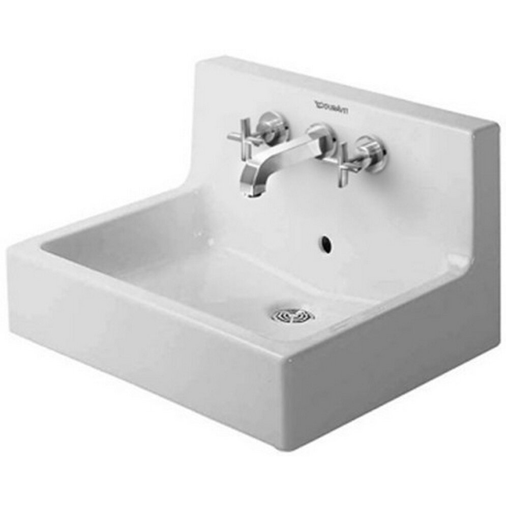 duravit vero wall mounted sink reviews wayfair. Black Bedroom Furniture Sets. Home Design Ideas