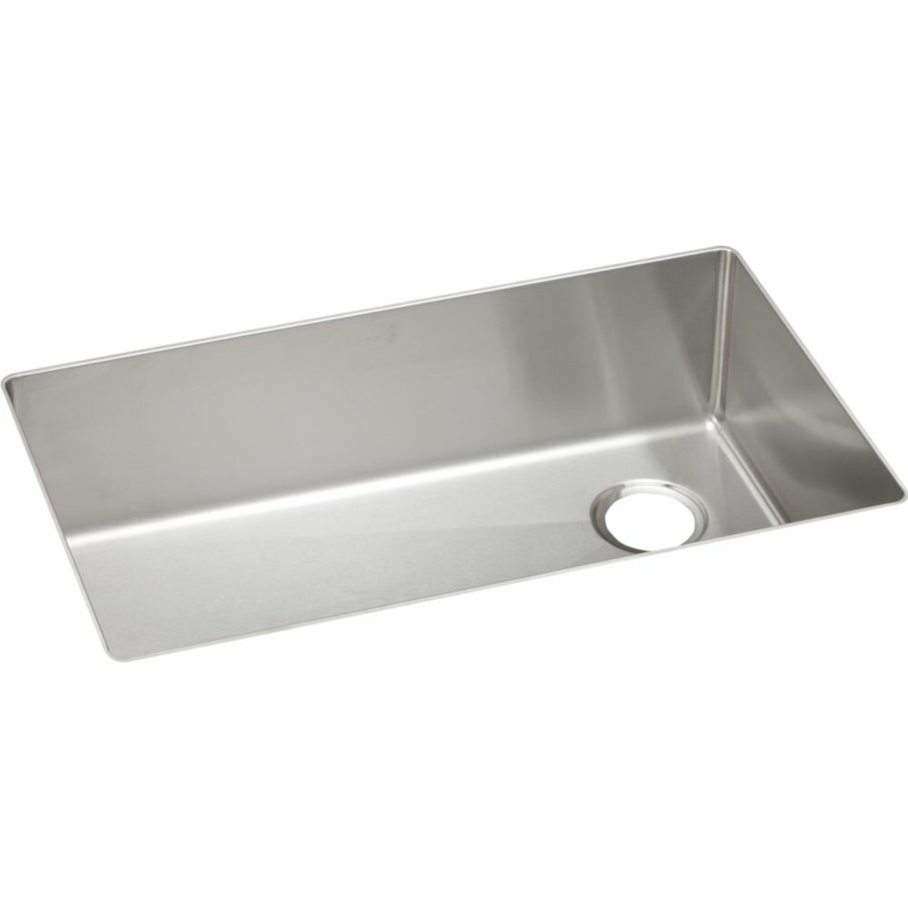 Elkay Kitchen Sinks: Elkay Crosstown Single Bowl Undermount Kitchen Sink