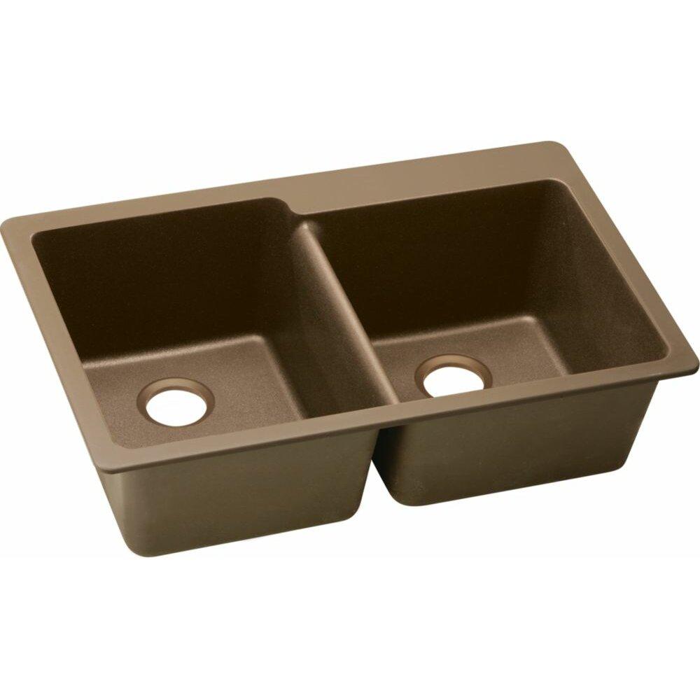 Elkay Quartz Classic 33 X 22 Kitchen Sink Reviews Wayfair