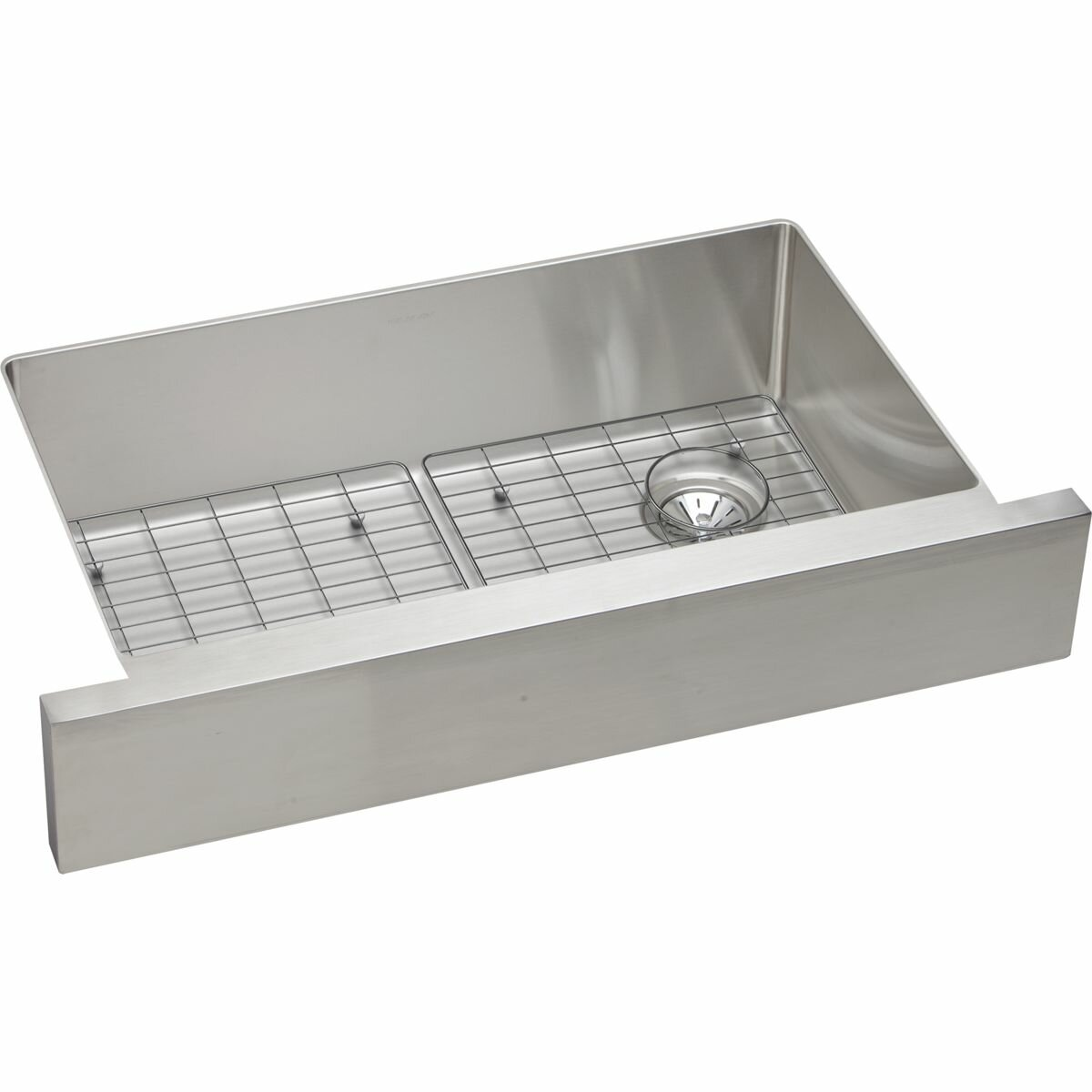 ... Crosstown Single Bowl Apron Front Undermount Kitchen Sink Wayfair