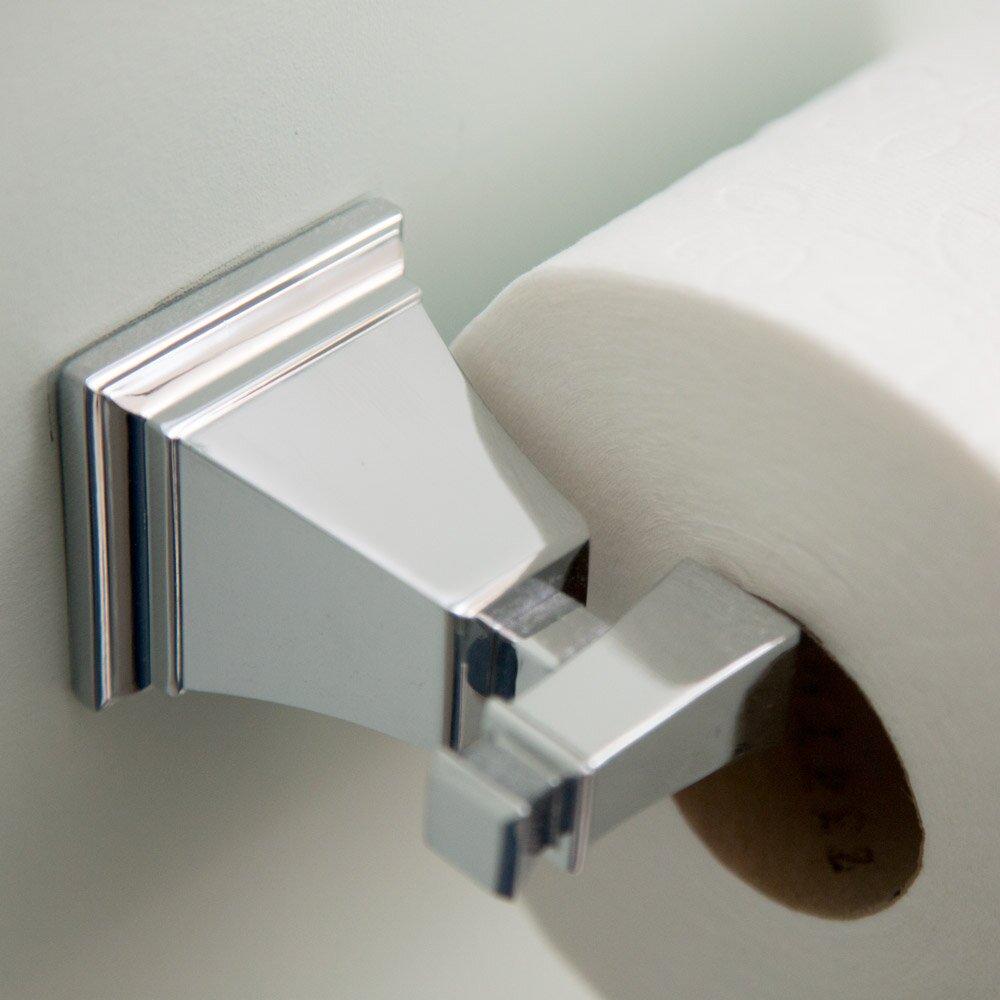 speakman rainier wall mount toilet paper holder reviews wayfair. Black Bedroom Furniture Sets. Home Design Ideas
