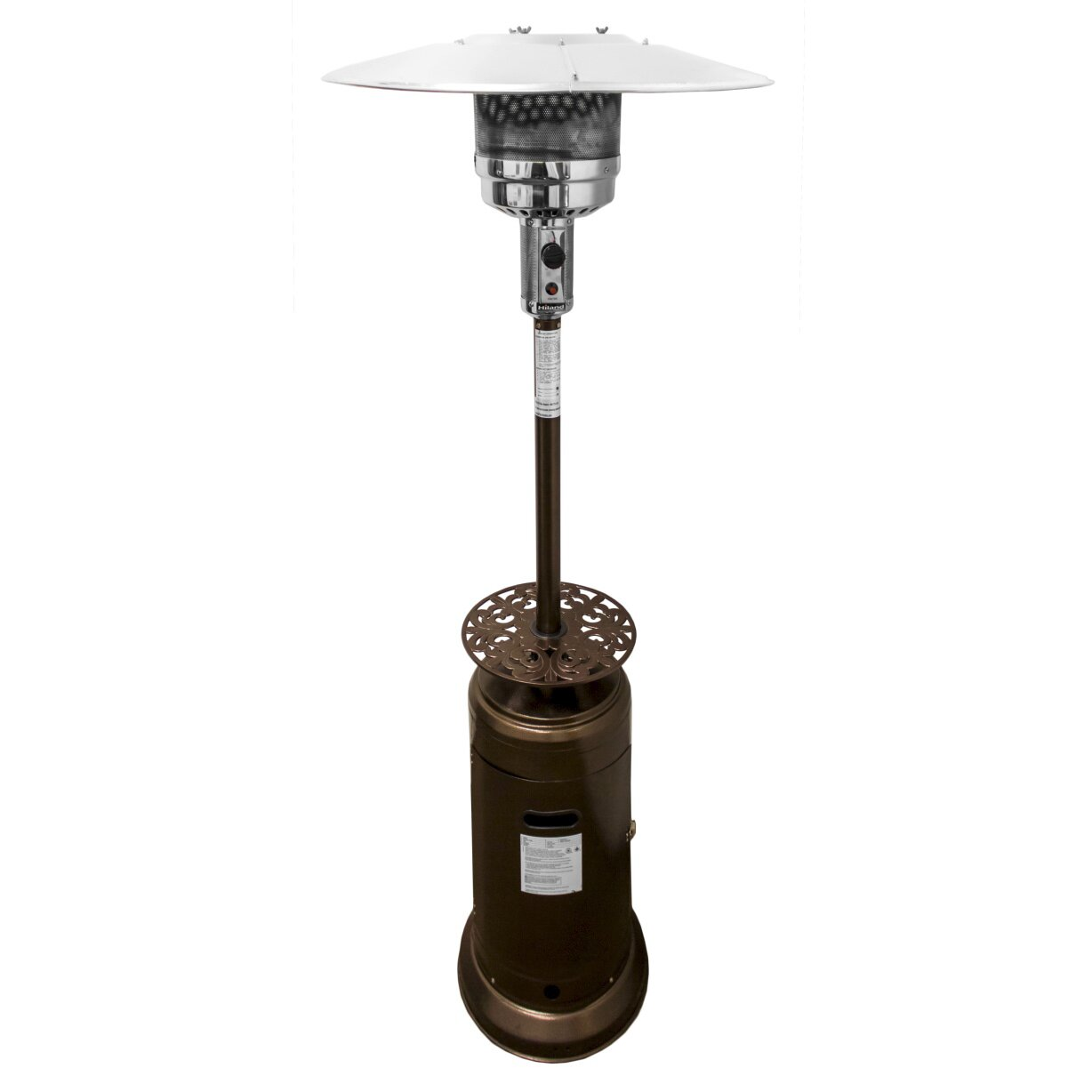 az patio heaters tall propane patio heater with table ii