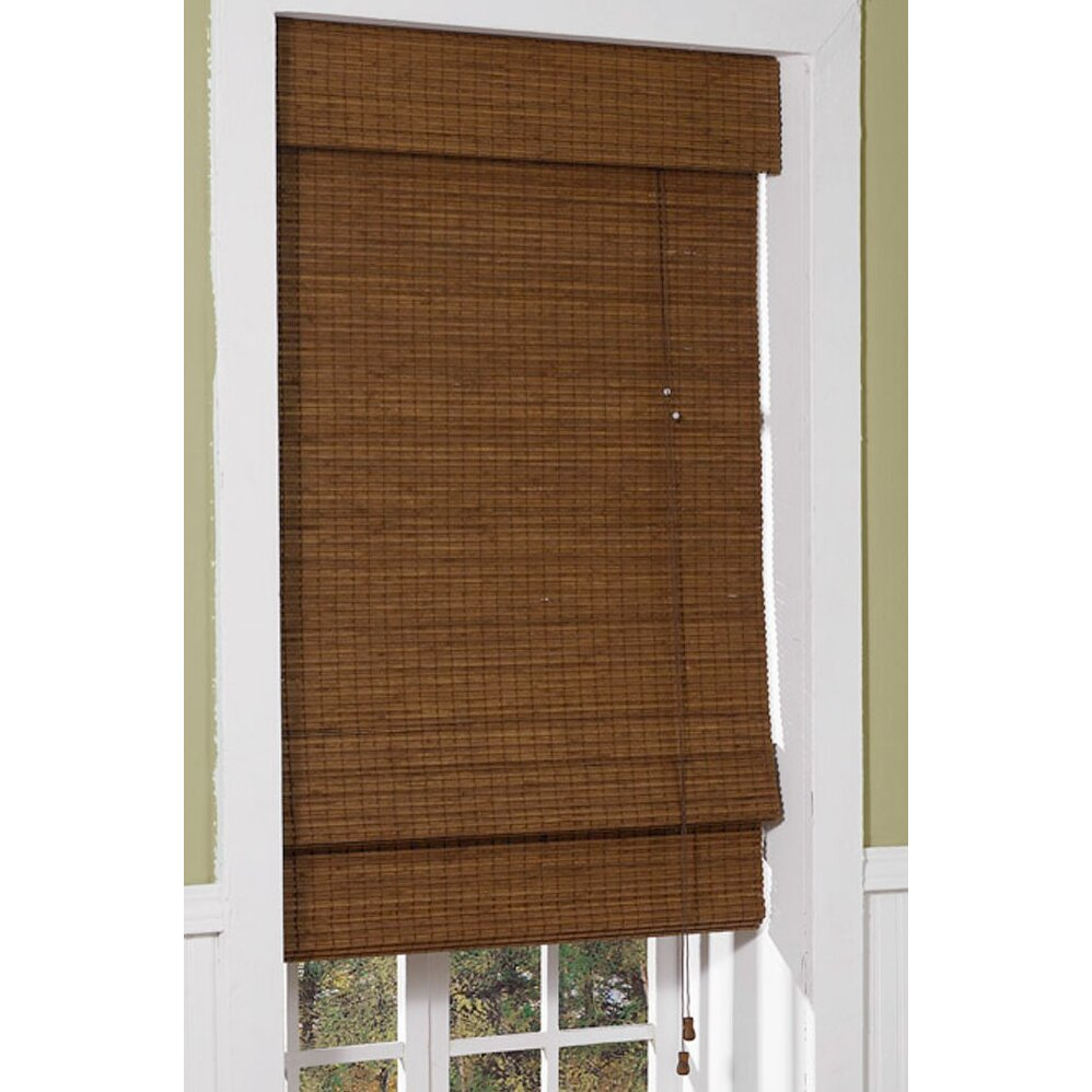 Radiance Cape Cod Bamboo Rayon Roman Shade Reviews Wayfair