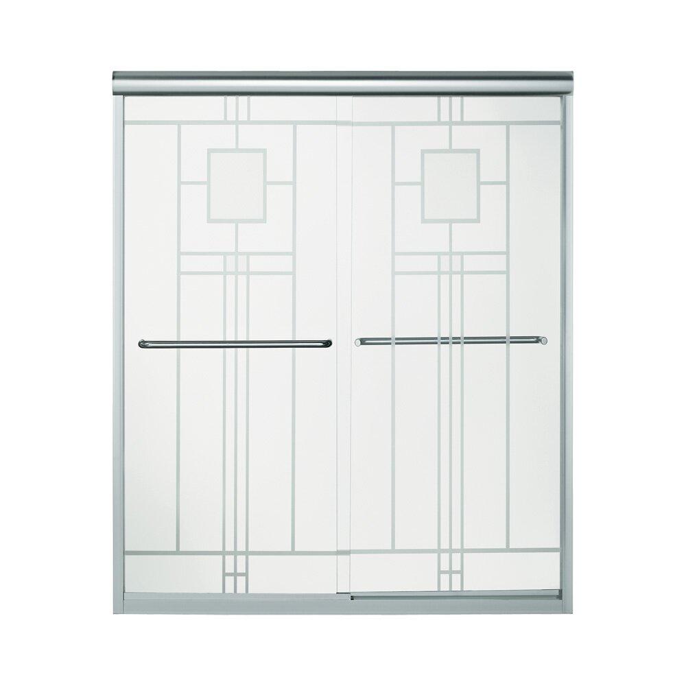 Sterling by kohler finesse x sliding for 70 inch sliding glass door