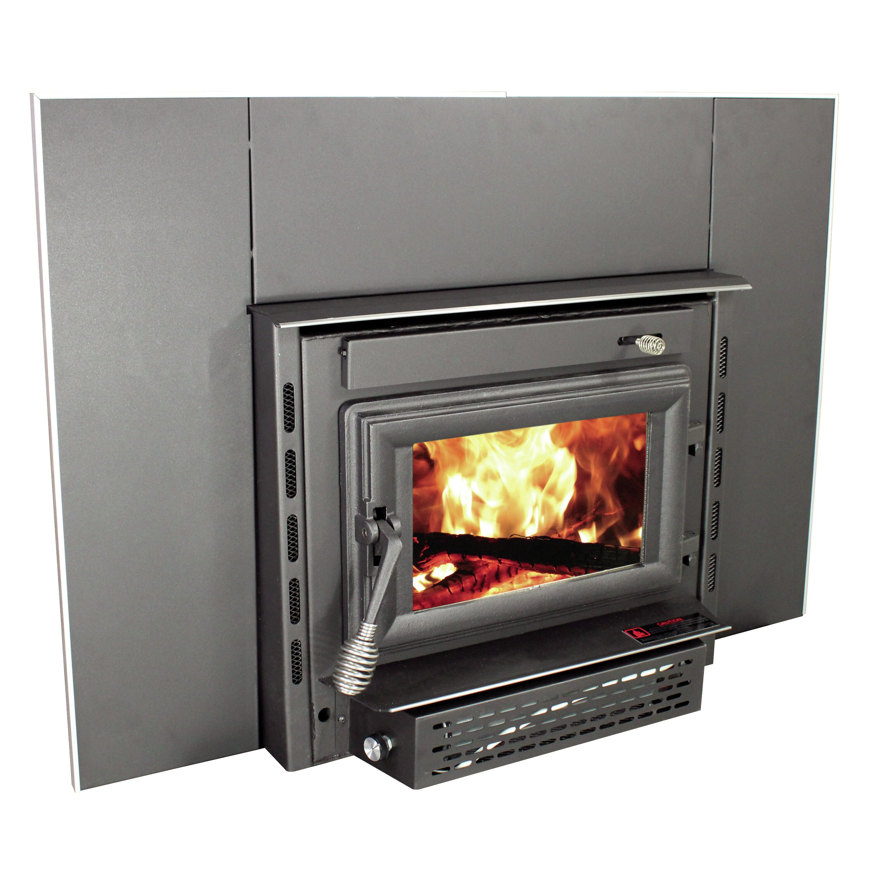 wall mount wood burning fireplace insert reviews