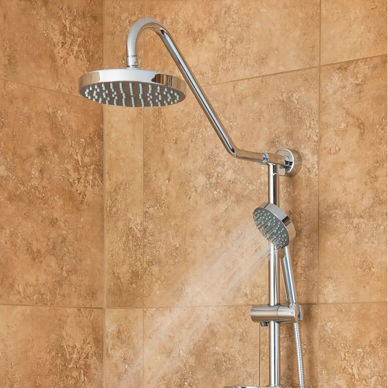 Pulse Shower Spas Kauai Rain Shower System Amp Reviews Wayfair