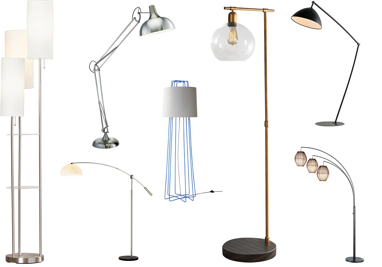 october lighting sale floor lamps sale allmodern. Black Bedroom Furniture Sets. Home Design Ideas
